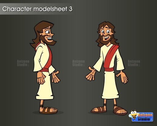 Charcter modelsheet 3