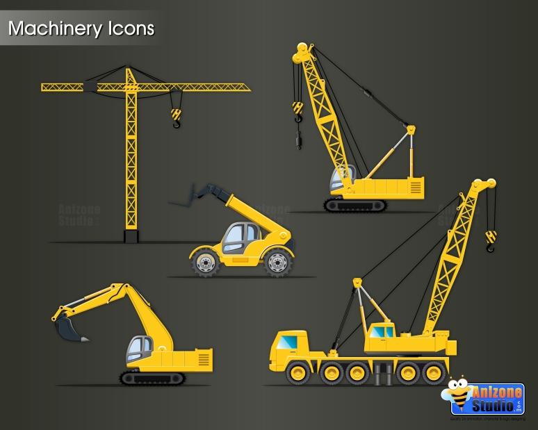 Machinery Icons
