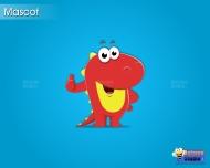 Mascot dragon